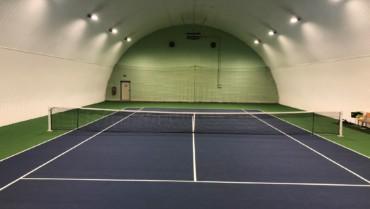 Nový povrch v hale – Green set Comfort