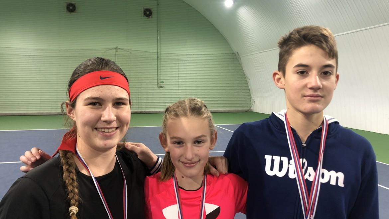 Tenisti TK Kúpele Piešťany úspešní na halových majstrovstvách Slovenska